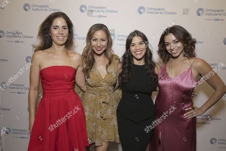 Exclusive - Ana Ortiz, Anjelah Johnson, America Ferrera and Anel Lopez seen at Stand for Kids Annual Gala benefiting Orthopaedic Institute for Children at Twentieth Century Fox Studios Lot, in Los Angeles, CA