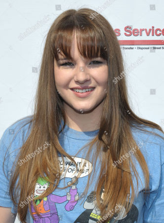 Starlight StarPower Ambassador Kay Panabaker attends the 2012 FAME Back-To-School event, in Los Angeles. The Starlight Children's Foundation invited families to participate in the event, where participants were given free school supplies and shoes