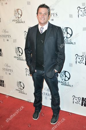 Bob Guiney attends Stars for Stripes at Hemingway's and Roxbury, in Los Angeles