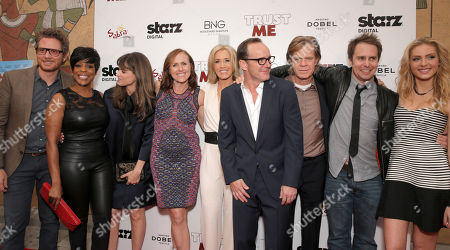 Stock Photo of Brian Gattas, Niecy Nash, Amanda Peet, Molly Shannon, Felicity Huffman, Clark Gregg, William H. Macy, Sam Rockwell and Saxon Sharbino attend STARZ Digital Premiere & After-party of TRUST ME sponsored by Sabra, Dobel and Petros Restaurant on in Los Angeles