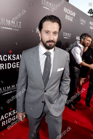 """Stock Picture of Richard Pyros seen at Summit Entertainment, a Lionsgate Company, Los Angeles Special Screening of """"Hacksaw Ridge"""" at The Academy Samuel Goldwyn Theater, in Beverly Hills, Calif"""