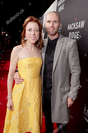 "Oliver Trevena and guest seen at Summit Entertainment, a Lionsgate Company, Los Angeles Special Screening of ""Hacksaw Ridge"" at The Academy's Samuel Goldwyn Theater, in Beverly Hills, Calif"