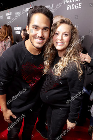 "Carlos PenaVega and Alexa PenaVega seen at Summit Entertainment, a Lionsgate Company, Los Angeles Special Screening of ""Hacksaw Ridge"" at The Academy's Samuel Goldwyn Theater, in Beverly Hills, Calif"