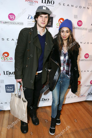 Stock Image of Pat Kiely, left, and Meaghan Rath attend Talent Resources suites,, in Park City, Utah