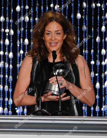 """Susie Fogelson of The Food Network accepts the Academy Honor award for """"Hunger Hits Home"""" onstage at the Academy of Television Arts & Sciences Presents """"The 6th Annual Television Honors"""" at the Beverly Hills Hotel on in Beverly Hills, California"""