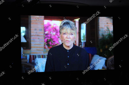 """Host Linda Ellerbee (via pre-tape) accepts the Academy Honor award for """"Nick News with Linda Ellerbee"""" onstage at the Academy of Television Arts & Sciences Presents """"The 6th Annual Television Honors"""" at the Beverly Hills Hotel on in Beverly Hills, California"""