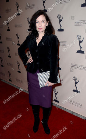 "Actor Guinevere Turner arrives at the Academy of Television Arts & Sciences Presents 10 Years After ""The Prime Time Closet - A History Of Gays And Lesbians On TV,"", at the Leonard H. Goldenson Theatre in North Hollywood, Calif"