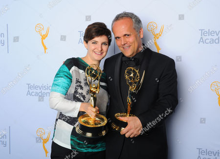 Editorial image of Television Academy's 2015 Creative Arts Emmy Awards - Portraits, Los Angeles, USA