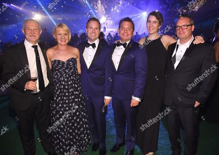 Steve Venezia, Maury McIntyre, Heather Cochran, and Eric Anderson attend the Governors Ball during night two of the Television Academy's 2016 Creative Arts Emmy Awards at the Microsoft Theater on in Los Angeles