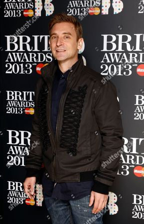 Daniel Stein, stage name DJ Fresh, seen at the Brit Awards Nominations event at the Savoy Hotel, in London