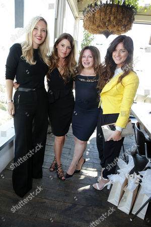 Stock Picture of Tara Swennen, Sara Riff, Jessica Paster and Ilaria Urbinati at The Hollywood Reporter and Jimmy Choo Celebration of the Most Powerful Stylists in Hollywood, on Wednesday, March, 13, 2013 in Los Angeles