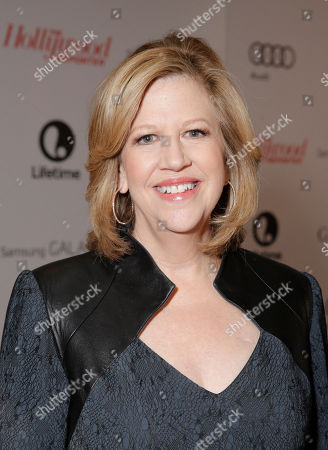 Abbe Raven, chairman of A&E Networks, arrives at The Hollywood Reporter's celebration of power 100 women in entertainment breakfast on in Beverly Hills, Calif