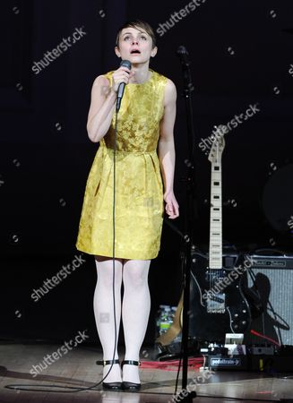 "Singer Kat Edmonson performs at ""The Music of Prince"" tribute concert at Carnegie Hall on in New York"