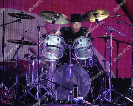 Dino Danelli of The Rascals performs at Hard Rock Live! in the Seminole Hard Rock Hotel & Casino on in Hollywood, Florida