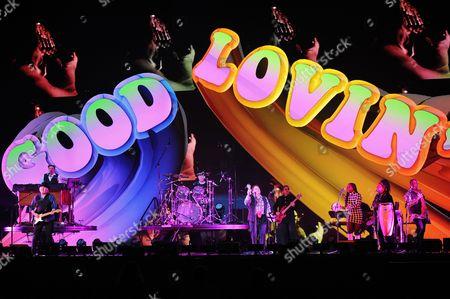 Felix Cavaliere, Gene Cornish, Dino Danelli and Eddie Brigati of The Rascals perform at Hard Rock Live! in the Seminole Hard Rock Hotel & Casino on in Hollywood, Florida