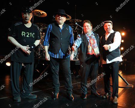 Dino Danelli, Gene Cornish, Eddie Brigati and Felix Cavaliere of The Rascals perform at Hard Rock Live! in the Seminole Hard Rock Hotel & Casino on in Hollywood, Florida