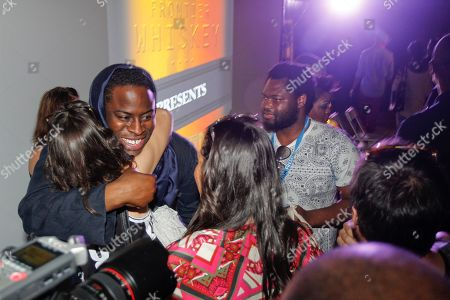"""Director Jeymes Samuel visits with fans at the Bulleit Bourbon presents """"They Die by Dawn"""" premiere at SXSW, on in Austin, Texas"""