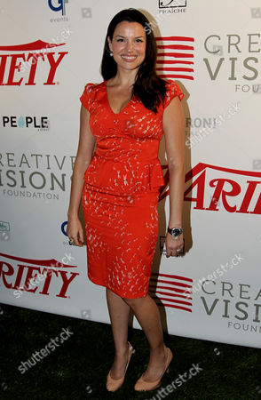 Caroline Morahan attends Creative Visions Foundation's Turn on LA event, in Santa Monica, Calif