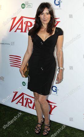 Alicia Coppola attends Creative Visions Foundation's Turn on LA event, in Santa Monica, Calif