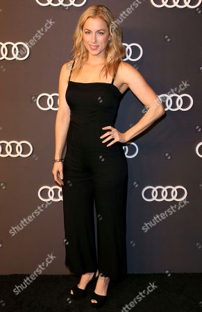 Iliza Shlesinger arrives at the 69th Primetime Emmy Awards Audi pre party at The Highlight Room, in Los Angeles