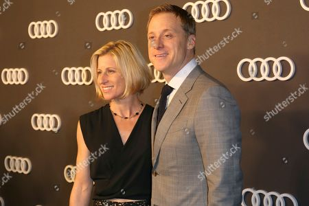 Alan Tudyk, Charissa Barton. Alan Tudyk, right, and Charissa Barton arrive at the 69th Primetime Emmy Awards Audi pre party at The Highlight Room, in Los Angeles
