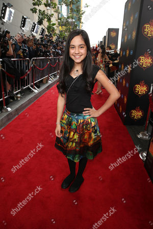"""Editorial image of Twentieth Century Fox and Reel FX Animation Studios premiere of """"The Book of Life"""", Los Angeles, USA"""