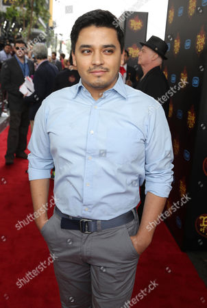 """Douglas Spain seen at Twentieth Century Fox and Reel FX Animation Studios premiere of """"The Book of Life"""" on Sun, in Los Angeles"""