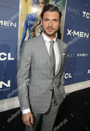 Adan Canto seen at the Twentieth Century Fox Global Premiere of 'X-Men: Days of Future Past' held at the Jacob K. Javits Convention Center, in New York City
