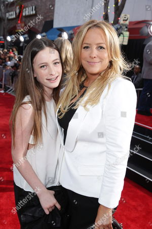Producer Julie Yorn and daughter Sammi seen at theTwentieth Century Fox Los Angeles Premiere of 'The Other Woman', in Westwood, Calif