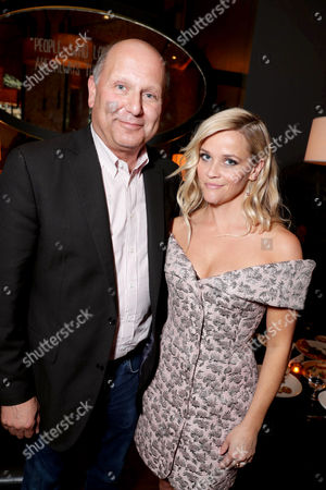 """Producer Christopher Meledandri and Reese Witherspoon seen at Universal Pictures """"Sing"""" at the 2016 Toronto International Film Festival, in Toronto"""