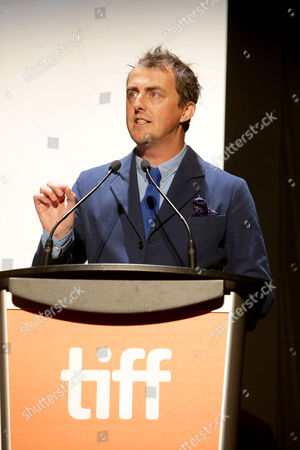 """Director/Writer Garth Jennings seen at Universal Pictures """"Sing"""" at the 2016 Toronto International Film Festival, in Toronto"""