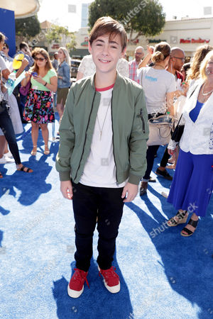Stock Image of Anton Starkman seen at Warner Bros. Pictures and Warner Animation Group World Premiere of STORKS at the Regency Village Theater, in Los Angeles