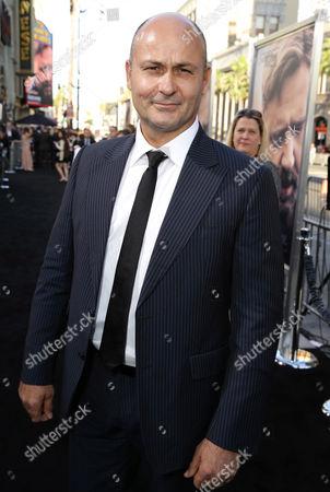"""Steve Bastoni seen at Warner Bros. Premiere of """"The Water Diviner"""", in Los Angeles"""