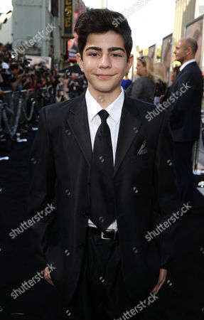 """Stock Picture of Dylan Georgiades seen at Warner Bros. Premiere of """"The Water Diviner"""", in Los Angeles"""