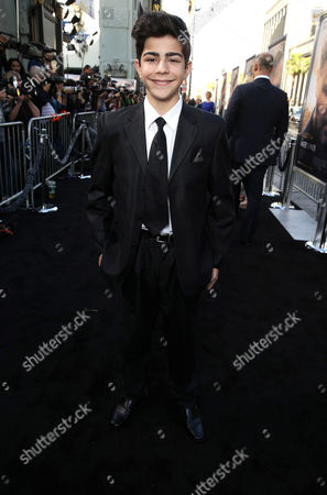 """Editorial photo of Warner Bros. Premiere of """"The Water Diviner"""", Los Angeles, USA"""