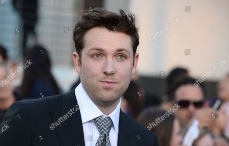 "Christian Madsen arrives at the world premiere of ""Divergent"" at the Westwood Regency Village Theater, in Los Angeles"