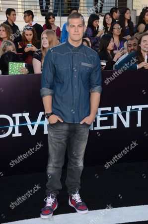 """Editorial picture of  World Premiere of """"Divergent"""" - Arrivals, Los Angeles, USA"""