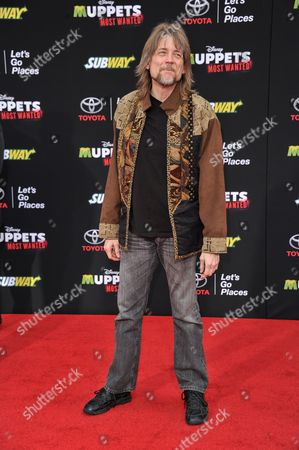 "Steve Whitmire arrives at the World Premiere of ""Muppets Most Wanted"", in Los Angeles"