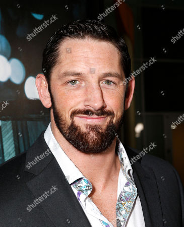 """Wade Barrett arrives at the world premiere of """"Dead Man Down"""" at the Archlight Hollywood on in Los Angeles"""