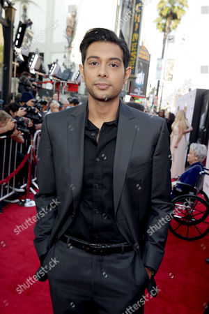 """Stock Photo of Abhi Sinha seen at World Premiere of New Line Cinema's """"The Conjuring 2"""" at 2016 LA Film Festival, in Los Angeles"""