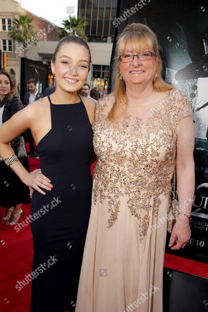 """Lauren Esposito and Margaret Nadeen seen at World Premiere of New Line Cinema's """"The Conjuring 2"""" at 2016 LA Film Festival, in Los Angeles"""