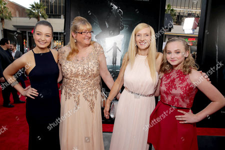 """Stock Picture of Lauren Esposito, Margaret Nadeen, Janet Winter and Madison Wolfe seen at World Premiere of New Line Cinema's """"The Conjuring 2"""" at 2016 LA Film Festival, in Los Angeles"""