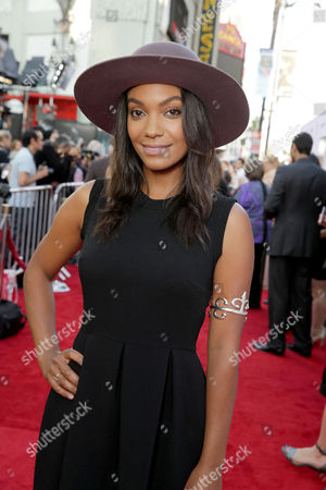 """Lyndie Greenwood seen at World Premiere of New Line Cinema's """"The Conjuring 2"""" at 2016 LA Film Festival, in Los Angeles"""