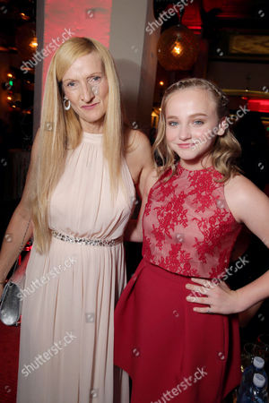 """Janet Winter and Madison Wolfe seen at World Premiere of New Line Cinema's """"The Conjuring 2"""" at 2016 LA Film Festival, in Los Angeles"""