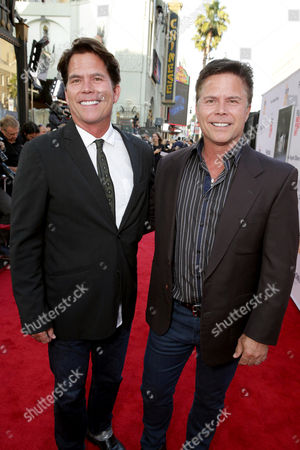 """Writers Chad Hayes and Carey Hayes seen at World Premiere of New Line Cinema's """"The Conjuring 2"""" at 2016 LA Film Festival, in Los Angeles"""