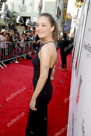 """Lauren Esposito seen at World Premiere of New Line Cinema's """"The Conjuring 2"""" at 2016 LA Film Festival, in Los Angeles"""