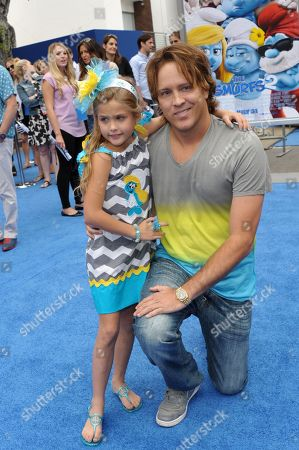 Editorial picture of World Premiere of The Smurfs 2 - Red Carpet, Los Angeles, USA
