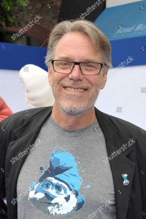 "Director Raja Gosnell arrives to the world premiere of ""The Smurfs 2"" at the Regency village Theatre on in Los Angeles"