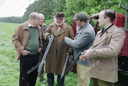 Stock Image of David Daker (as Matty Lovell), Peter Geddis (as Jim Healy), Bill Maynard (as Claude Jeremiah Greengrass), David Lonsdale (as David Stockwell) and David Blair (as Charlie Penwarden)