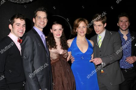 Adam Chanler-Berat, J Robert Spencer, Jennifer Damiano, Alice Ripley, Aaron Tveit, Louis Hobson